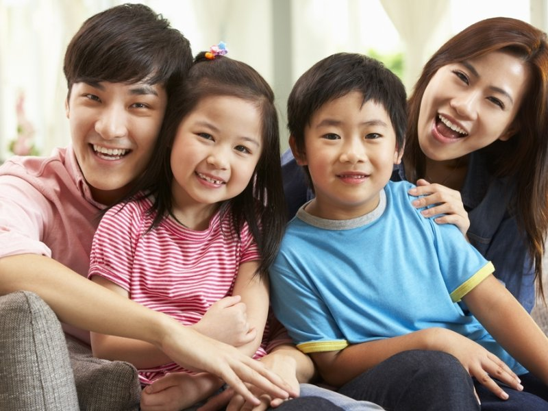 chinese family education versus american family